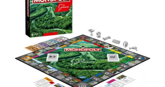 There's Now A Nurburgring-Themed Version Of Monopoly And We Need It