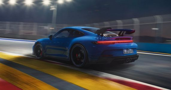 A Porsche 911 GT3 Test Mule Covered 3100 Miles At A Constant 186mph