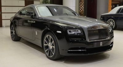 A Diamond Black And Jubilee Silver Wraith Is Not Something You Can Ignore