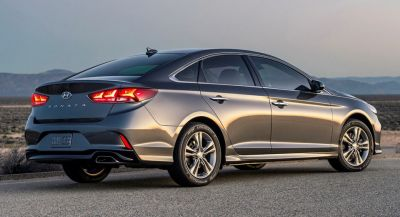 Facelifted 2018 Hyundai Sonata Arrives This Summer, From $22,050