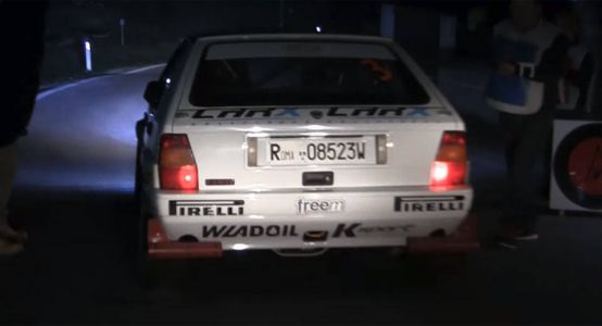 Few Things Are More Satisfying Than Rally Car Launches