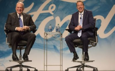 How Silicon Valley Spurred Bill Ford Jr. to Replace His CEO