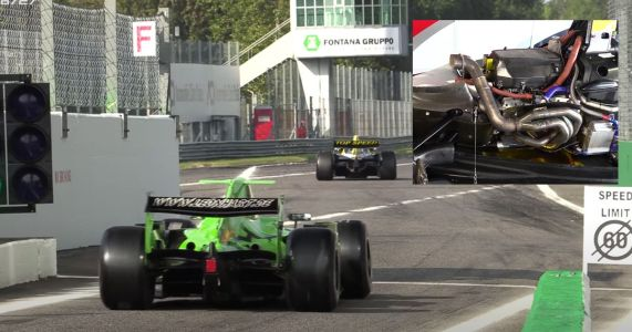 Watch 'Retired' V6, V8 And V8 Single-Seaters Make A Lovely Racket At Monza