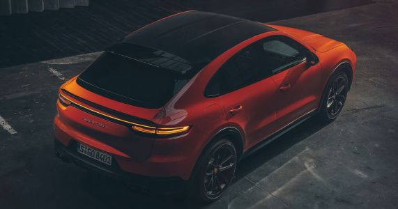 The Inevitable Porsche Cayenne Coupe Has Arrived With Up To 542bhp