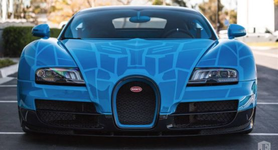 Transformers-Themed Bugatti Veyron Still Looking For A Home