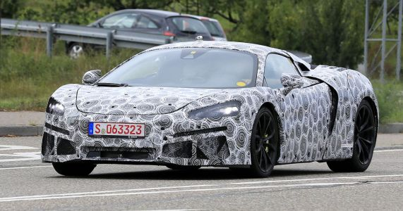 The V6 Hybrid McLaren 570S Successor Has Been Spotted Wearing Its Own Bod