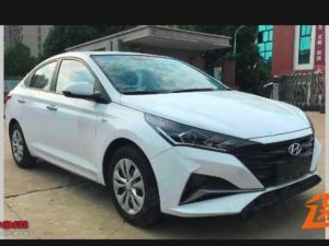Hyundai Verna Facelift Spied In China Could Launch Here In 2020