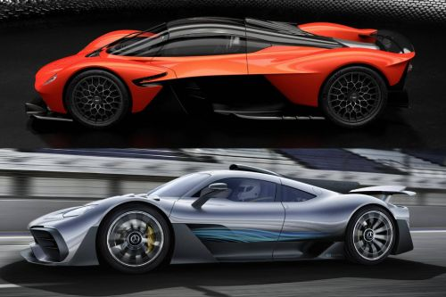 David Coulthard Getting Aston Martin Valkyrie and Mercedes-AMG One Hypercars