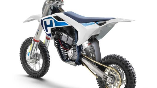 Husqvarna EE 5 Mini Electric Motocrosser First Look