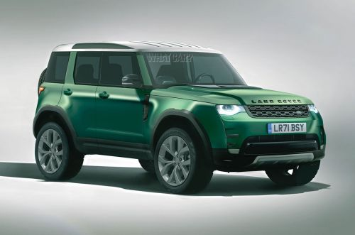 Land Rover Baby Defender Coming In 2022 Says Report