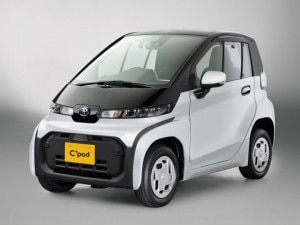Toyota Launches C Pod Battery Electric Vehicle In Japan