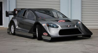 GT-R-Powered Ford Focus Heading To Pikes Peak