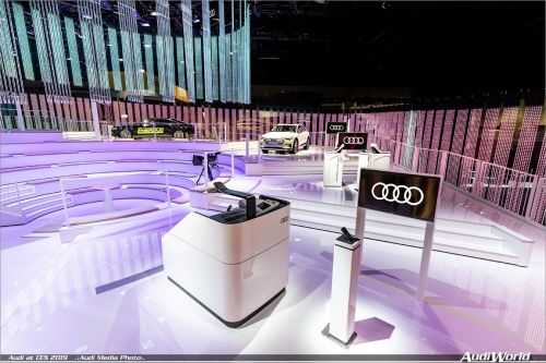 From driving experience to experience the drive: Audi at the 2019 CES