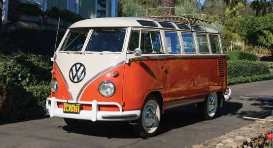 Flower Power VW Microbus Could Fetch More Than $200,000 At Auction