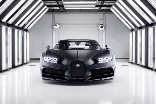 "The 250th Bugatti Chiron Is This Menacing Chiron Sport ""Edition Noire Sportive"""