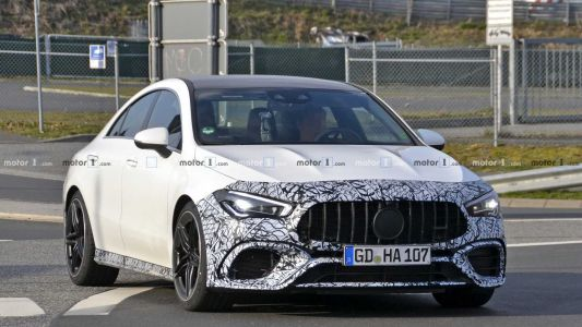 Mercedes-AMG CLA 45 Spotted With Less Camouflage