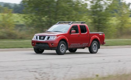 2017 Nissan Frontier Pro-4X 4×4 Crew Cab Automatic Tested: Automotive Paleontology