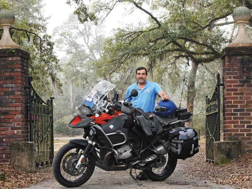Refereeing Pro Cycling With BMW's R1200GS Adventure