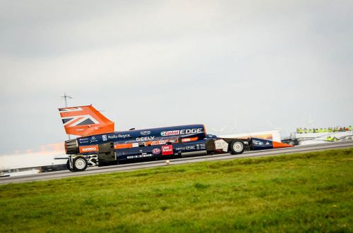 Bloodhound Land Speed Record Project Officially Comes To an End