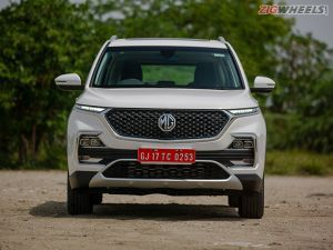 MG Hector Launched Price Starts From Rs 1218 Lakh
