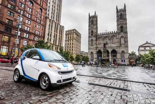 Montreal Expands Carsharing Service Areas