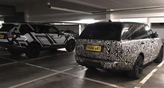 Why Is Land Rover Testing This Pair Of Camouflaged SUVs At The 'Ring?