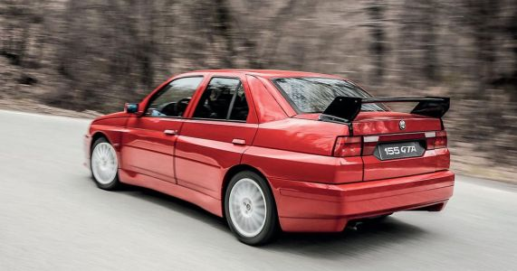 Alfa's Cancelled, Delta Integrale-Derived M3 Rival Is Yours For £190k