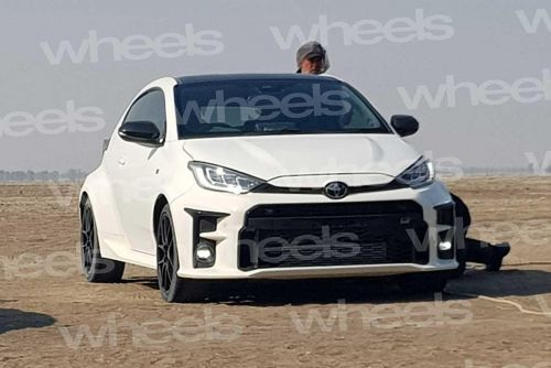Rally-Inspired Toyota Yaris GR-4 Leaked