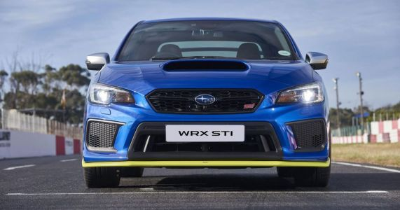 The 348bhp Diamond Edition Is A Subaru WRX STI The UK Can't Have