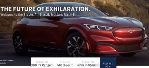 Ford Mustang-Inspired Mach-E Electric SUV Images Specifications And Price Leaked