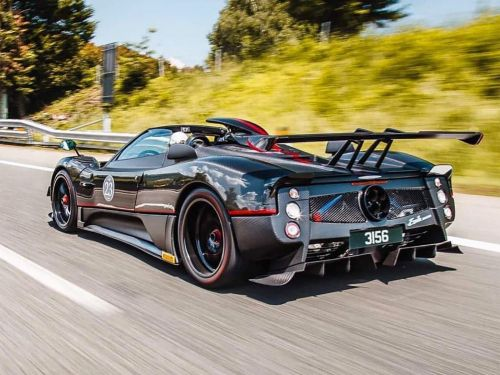 The Pagani Zonda Refuses To Be Put To Bed With Yet Another One-Off Called Aether