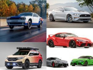 2019 SEMA Show Highlights Fords Electric Mustang Toyota Supra Overload Dodge Challenger Drag And More