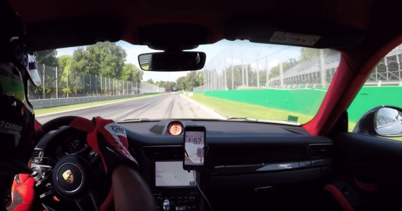 Try Not To Clench As A 911 GT2 RS Suffers A 180mph Blowout