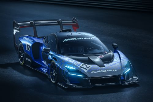 Production McLaren Senna GTR Revealed With Mega Downforce