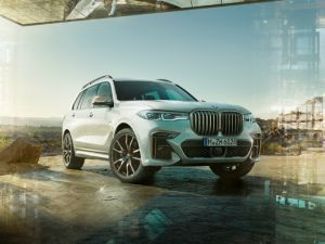 India-bound BMW X7s Features Previewed