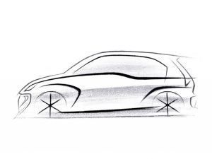 Hyundai AH2 Santro Official Sketch Released