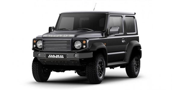 Here's A New Suzuki Jimny Wearing A Land Rover Defender Suit