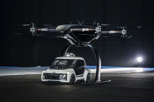 Audis First Ever Flying Taxi Concept Takes Off