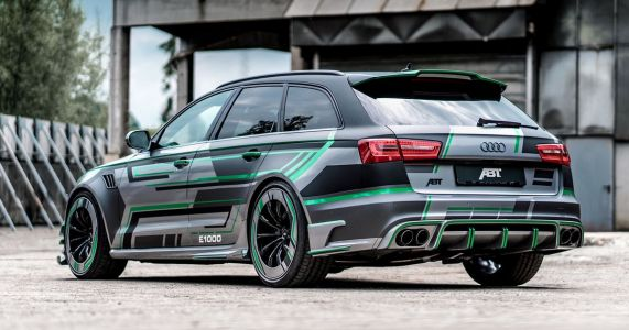 The ABT RS6-E Is A 1000bhp Hybrid Monster