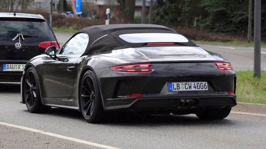New Porsche 911 Speedster May Be Limited To 1,948 Units