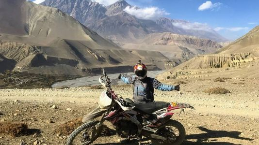 Motorcycle Adventuring With Purpose In Nepal