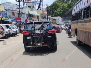 BS6-compliant Mahindra Alturas G4 Spied On Test
