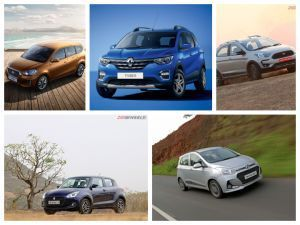 Renault Triber vs Datsun Go Plus vs Ford Freestyle vs Maruti Suzuki Swift vs Hyundai Grand i10