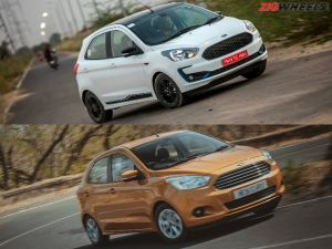 Ford Figo Whats New In The Facelift Old vs New