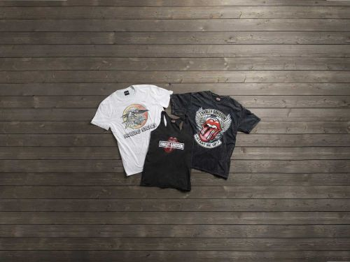 Harley-Davidson And Rolling Stones Limited-Edition Apparel