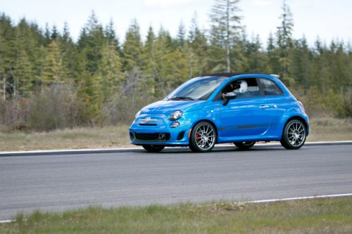 Track Time: Fiat Abarth 500 and 124 Spider