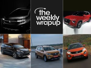 Tata Nexon Facelift Spied Kia Carnival Confirmed Renault Triber Launch Date Maruti XL6 Variants Colours Reveal And More Top 5 Car News Of The Week