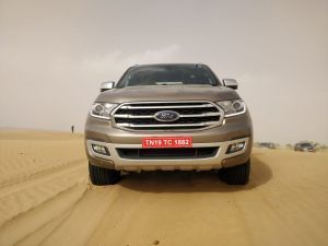 All New 2019 Ford Endeavour In Pictures