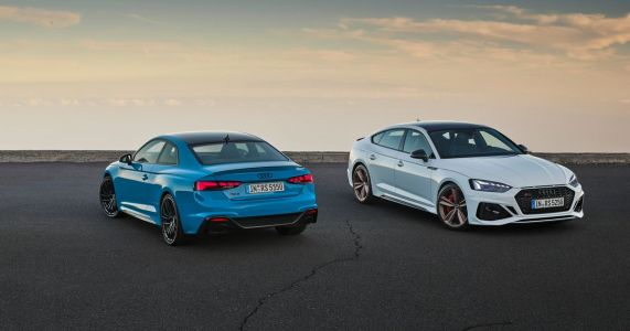 More Driving Modes For Refreshed Audi RS5 And RS5 Sportback