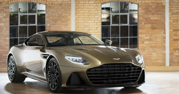 Aston Martin Has Made A Bond-Inspired DBS With Very Spangly Wheels